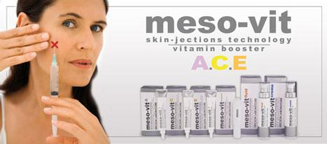 MESO-VIT Kuracja rewitalizująca – alternatywa dla mezoterapii, nieinwazyjna medycyna estetyczna