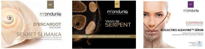 zabiegi pielęgnacyjne, francuskie kosmetyki, monduniq cosmetiques