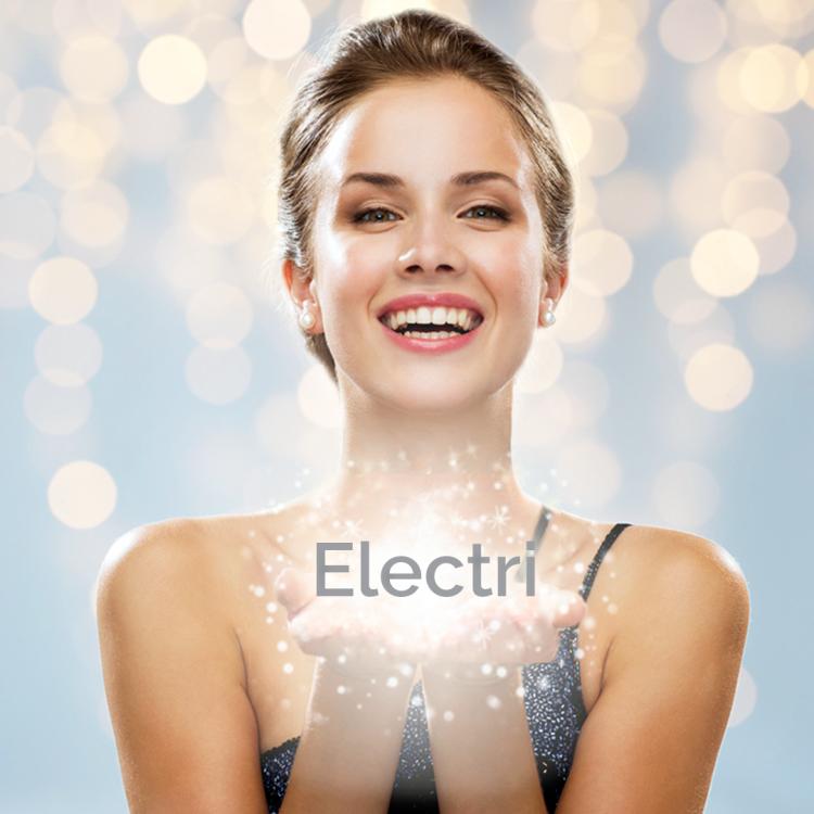 zabieg na skórę preparatem electri