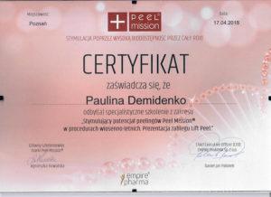 Dyplom Paulina Demidenko, stymulacja poprzez wysoką biodostępność