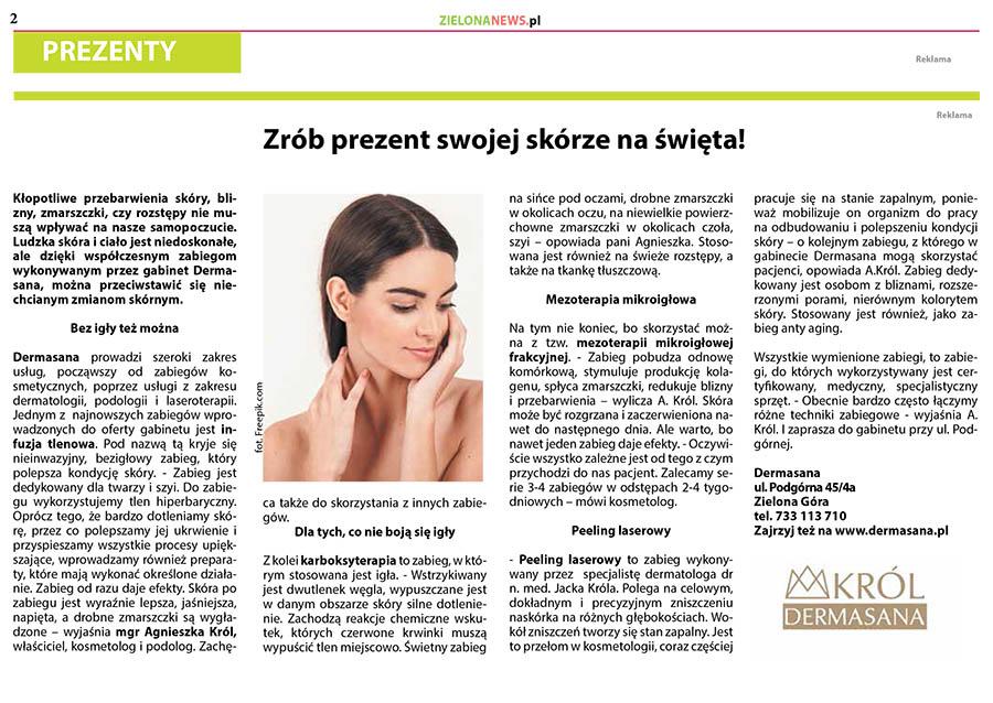 zielonanews artykuł w prasie